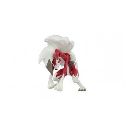 Pokemon blister pack with character Lycanroc form night T18445/T19179 Rocco Giocattoli- Futurartshop.com