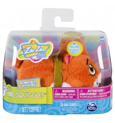 Zhu zhu pets personaggio sonoro mr squiggles 6039882/20093439 Spin master-Futurartshop.com