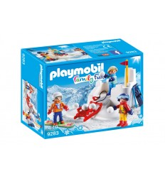Playmobil-9283 - Snow ball fight 9283 Playmobil- Futurartshop.com