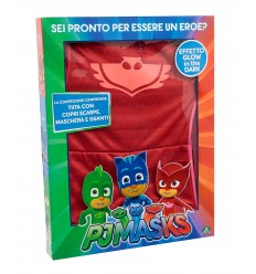 Pj masks costume gufetta with wings size 3-4 years PJA02000/1 Giochi Preziosi- Futurartshop.com