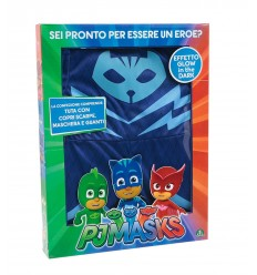 Pj masks costume cat boy with tail detachable size 4-5 years PJA00000/2 Giochi Preziosi- Futurartshop.com