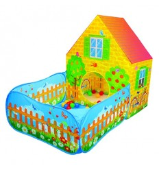 House with garden fabric more than 30 balls