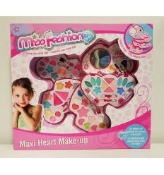 Cosmetic bag heart-make up 4 levels
