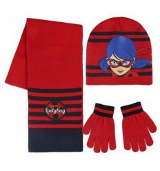 Lady Bug set scarf hat and gloves LB-2200-2554 4M- Futurartshop.com