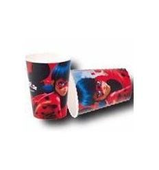 Lady Bugs tasses de 8 pièces NBP1438 New Bama Party- Futurartshop.com