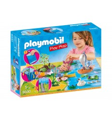Playmobil 9330 play map il lago delle feste 9330 Playmobil-Futurartshop.com
