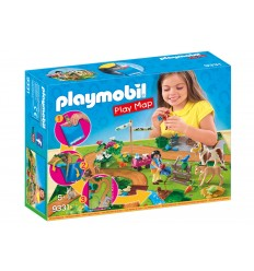 Playmobil 9331 jouer la carte de chevaux 9331 Playmobil- Futurartshop.com
