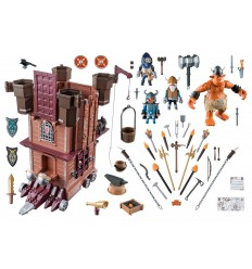 Playmobil 9340 fortezza mobile dei guerrieri 9340 Playmobil-Futurartshop.com