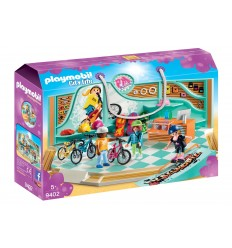 Playmobil 9402 magasin de skate et de location de vélos 9402 Playmobil- Futurartshop.com