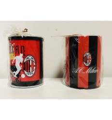 AC Milan portapenne in metallo 2218488345218 Cartorama-Futurartshop.com