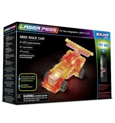 Laser pegs mini race car L10012 Giochi Preziosi- Futurartshop.com