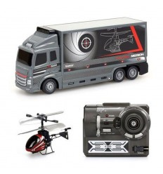 Truck falcon mission with the helicopter 20731680 Rocco Giocattoli- Futurartshop.com