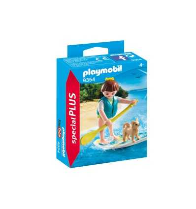 Playmobil Up Fille Avec Paddling 9354 Stand zUGSqVpM