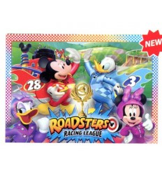 Puzzle 104 maxi mickey and the roadster racers 23715 Clementoni-Futurartshop.com