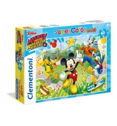 Puzzle maxi mickey and the roadster racers 60 pezzi 26433 Clementoni-Futurartshop.com