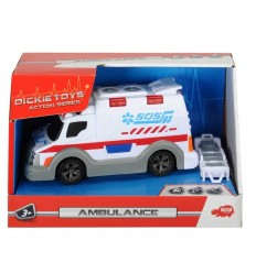 ambulance with lights and sounds 15 cm 203313577 203313577 Simba Toys- Futurartshop.com