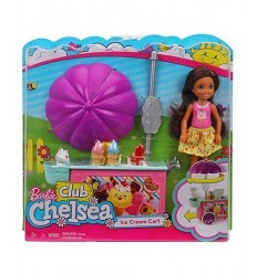 Barbie club chelsea playset carretto dei gelati FDB32/FDB33 Mattel-Futurartshop.com