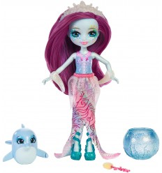Enchantimals cambia colore bambola dolce dolphin e largo FKV54/FKV55 Mattel-Futurartshop.com