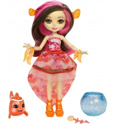 Enchantimals cambia colore bambola clarita clownfish e cackle FKV54/FKV56 Mattel-Futurartshop.com