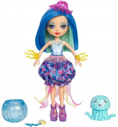 Enchantimals cambia colore bambola jessa jellyfish e marisa FKV54/FKV57 Mattel-Futurartshop.com