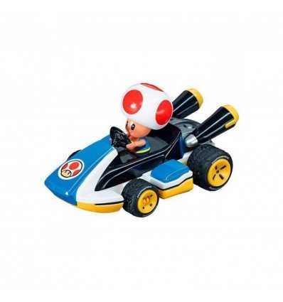 Vehicle Mario Kart character is Toad 8 cm 15819064/19318T Carrera go- Futurartshop.com