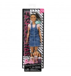 Bambola barbie fashionistas overall awsome blue beauty FBR37/FJF37 Mattel-Futurartshop.com