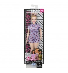 Bambola barbie fashionistas lips are poppin'curvy FBR37/FJF40 Mattel-Futurartshop.com