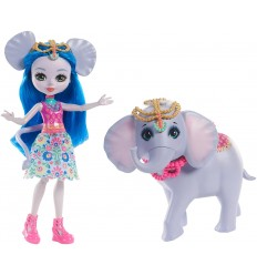 Bambola enchantimals cucciolo ekaterina elephant e antic FKY72/FKY73 Mattel-Futurartshop.com