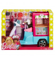 Barbie scooter street food FHR08 Mattel-Futurartshop.com