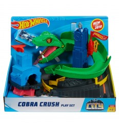 Hot wheels playset attack on the cobra FNB20 Mattel- Futurartshop.com