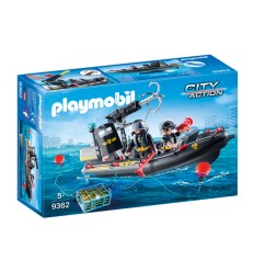 Playmobil 9362 Inflatable boat color special 9362 Playmobil- Futurartshop.com