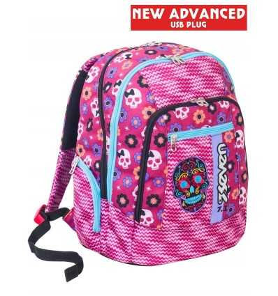 a4cf2c392a School backpack advanced mexi girl 2018 pink 201001839-406 Seven-  Futurartshop.com
