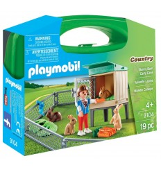 Playmobil 9104 la casa dei conigli 9104 Playmobil-Futurartshop.com