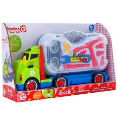 Truck sounds with a carrying case for tools and accessories 05200 Globo- Futurartshop.com