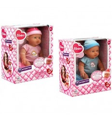 Doll drinks wets cries with jar and bottle 2 colors 36989 Globo- Futurartshop.com