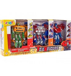 Car traxfigure robot 1:32 blister 3 pieces 37047 Globo- Futurartshop.com