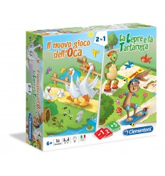 The new game of the goose and the hare and the tortoise 16065 Clementoni- Futurartshop.com