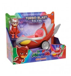 Автомобиль turbo blast glider pj masks gufoaliante с персонажа PJM44000/1 Giochi Preziosi- Futurartshop.com