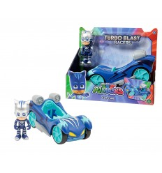 Автомобиль turbo blast glider pj masks gattomobile с персонажа PJM44000/2 Giochi Preziosi- Futurartshop.com