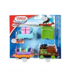 Thomas and friends motorized railway character chocolate percy DHC50/DHC72 Mattel- Futurartshop.com