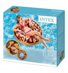Intex donut fancy chocolate 114 cm 56262NP Intex- Futurartshop.com