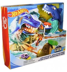 Hot Wheels piste sos requin FNB21 Mattel- Futurartshop.com