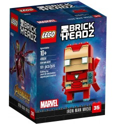Lego 41604 минифигурки iron man MK50 41604 Lego- Futurartshop.com