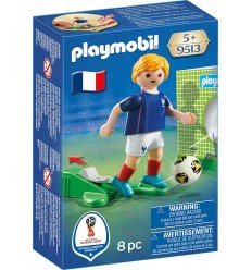 Playmobil 9513 Footballeur France 9513 Playmobil- Futurartshop.com