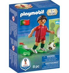 Playmobil 9516 Footballeur Portugal PLA9516 Playmobil- Futurartshop.com
