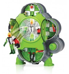 Ben 10 The room creates the game with 4 characters BEN25000 Giochi Preziosi- Futurartshop.com