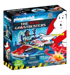 Playmobil 9387 Ghostbusters personaggio zeddemore con acqua scooter PLA9387 Playmobil-Futurartshop.com