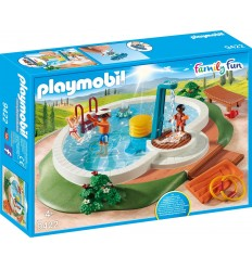 Playmobil 9422 Pool med dusch kör 9422 Playmobil- Futurartshop.com