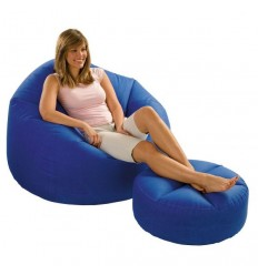 Set lounge chair with cushion 078257685585 Intex- Futurartshop.com