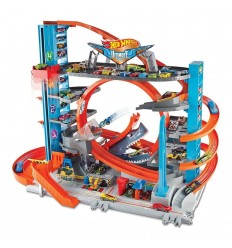 Hot Wheels - Garage delle acrobazie FTB69 Mattel-Futurartshop.com